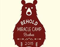 Miracle Camp T-shirt Design