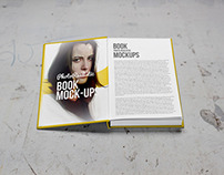 Free Book / Mockup / Photo Realistic