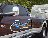 Team RV Express - Responsive Website