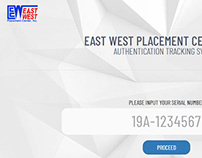 EWPCI Authentication Tracking System