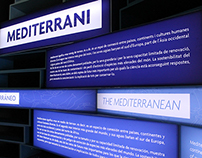 """Mediterráneo"" Exhibition Design"