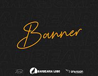 Banner - Barbearia Lobo