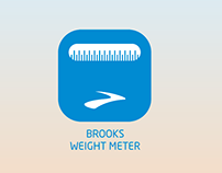 BROOKS WEIGHT METER
