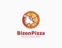 Bizon Pizza Logo