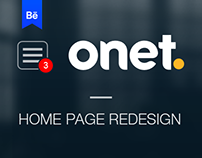 Onet. Redesign