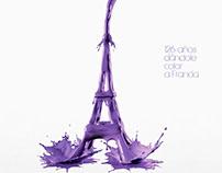 Torre Eiffel 126 años