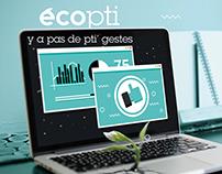 Ecopti / Internet & Ecologie
