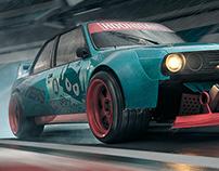 BMW e30 Concept CGI
