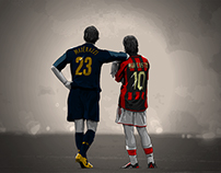 AC/Inter Milan Illustrations
