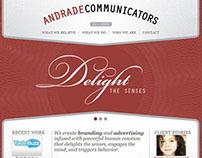 Andrade Design - ad agency WordPress web development