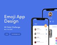 XD Daily Challenge Day 7 - Emoji App