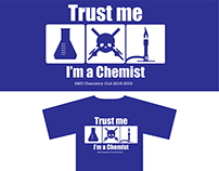 SMU Chem Club t-shirt design
