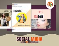 Pacote Social Midia moderno, para Instagram e Facebook