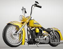 Twisted Tea Custom Harley Davidson