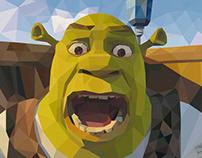 Shrek - Low Poly