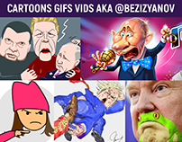 Cartoons&animations 2014/19 A.K.A @Bezizyanov