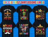 Cinco De Mayo T Shirt Design Bundle