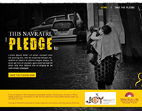 Microsite - Pledge for Kashmir