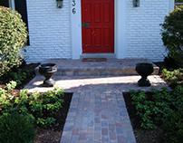 Brick Paver Front Porch