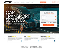 Car transport web design