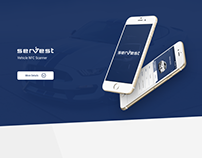 Servest Vehicle Tracking app