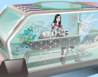 Autonomous Tour Car Concept FOR SEOUL