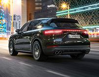 Porsche Cayenne - CGI & Retouching