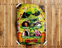 Poster 8 jaar Cafe De Snor