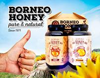 Borneo Honey Advertisement Design