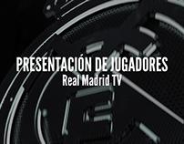 Presentación de Jugadores. Real Madrid TV