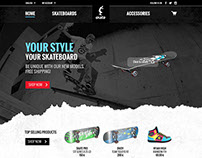 Skaters e-Shop Design proposal