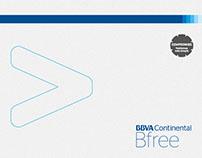 Card Carrier - Bfree BBVA Continental