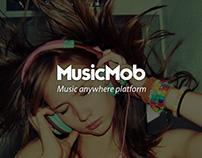 Mobile app - MusicMob