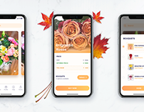 Flowered - App Design