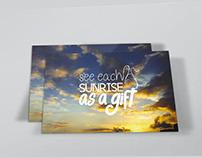 Cartões Postais com o tema Felicidade