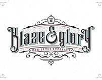 Blaze & Glory Typeface