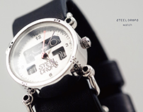 STEEL DROPS WATCH