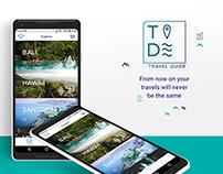 Tide - Travel Guide App
