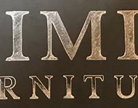 Chalk logo wall