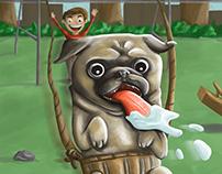 Pug pug and away!