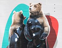 El oso plateado and the machine