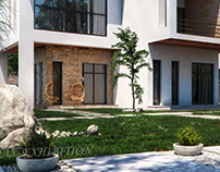 Modern house in Lebanon full cgi (Architect Archi Tyre)