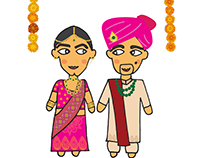 Indian Wedding Character Creation