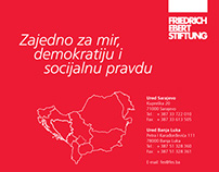 Book cover and page designs (Friedrich Ebert Stiftung)