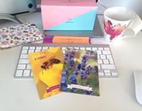 postcard designfor #givebeesachance project