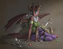 Fresco: Unusual Dragon