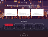 ZenRooms - city landing page