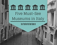 Five Must-See Museums in Italy