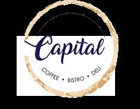 Capital Coffee | Bistro | Deli Logo conceptulisation