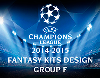 UEFA Champiosn league 2014-15 fantasy kits